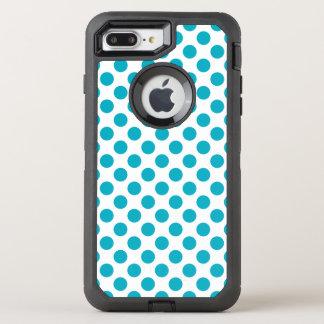Capa Para iPhone 8 Plus/7 Plus OtterBox Defender Bolinhas profundas do Aqua