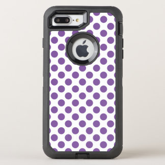 Capa Para iPhone 8 Plus/7 Plus OtterBox Defender Bolinhas roxas