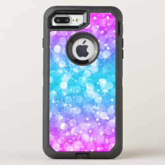 Capa Para iPhone 8 Plus/7 Plus OtterBox Defender Brilho Glam colorido moderno GR2 de Bokeh