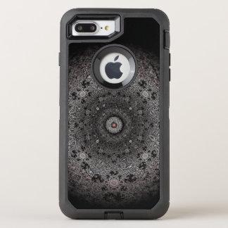 Capa Para iPhone 8 Plus/7 Plus OtterBox Defender Caçando o esboço escuro do olho-como o formulário