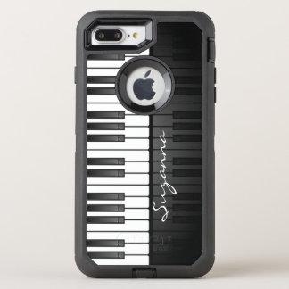 Capa Para iPhone 8 Plus/7 Plus OtterBox Defender Caixa da lontra do design do teclado de piano