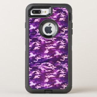 Capa Para iPhone 8 Plus/7 Plus OtterBox Defender Camo roxo, caso de Otterbox