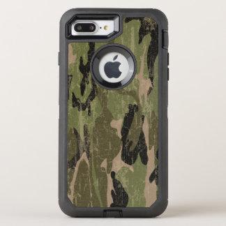 Capa Para iPhone 8 Plus/7 Plus OtterBox Defender Camo verde desvanecido