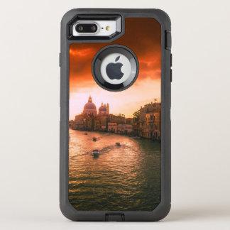 Capa Para iPhone 8 Plus/7 Plus OtterBox Defender Canal histórico bonito de Veneza, Italia