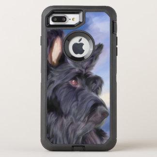 Capa Para iPhone 8 Plus/7 Plus OtterBox Defender Cão adorável de Terrier do Scottish