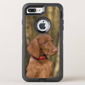 Capa Para iPhone 8 Plus/7 Plus OtterBox Defender Cão ostentando bonito de Vizsla