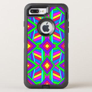 Capa Para iPhone 8 Plus/7 Plus OtterBox Defender Caos colorido 13