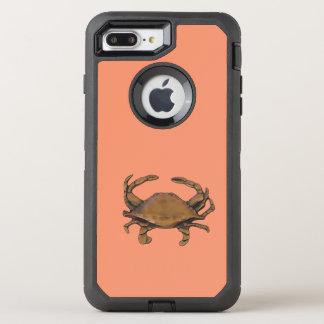 Capa Para iPhone 8 Plus/7 Plus OtterBox Defender Caranguejo de cobre