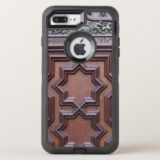 Capa Para iPhone 8 Plus/7 Plus OtterBox Defender Casa espanhola da porta da igreja da entrada do