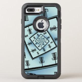 Capa Para iPhone 8 Plus/7 Plus OtterBox Defender Cestas de giro do golfe do disco