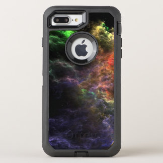 Capa Para iPhone 8 Plus/7 Plus OtterBox Defender Conjunto da nebulosa do mosaico do estuque da arte