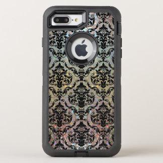 Capa Para iPhone 8 Plus/7 Plus OtterBox Defender Cor damasco bonito de Halleesham protetora