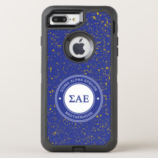 Capa Para iPhone 8 Plus/7 Plus OtterBox Defender Crachá alfa do épsilon | do Sigma