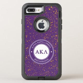 Capa Para iPhone 8 Plus/7 Plus OtterBox Defender Crachá alfa do Lambda | do Kappa
