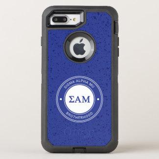 Capa Para iPhone 8 Plus/7 Plus OtterBox Defender Crachá da MU | do alfa do Sigma