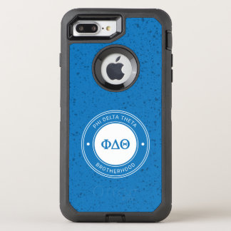 Capa Para iPhone 8 Plus/7 Plus OtterBox Defender Crachá da teta | do delta da phi