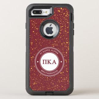 Capa Para iPhone 8 Plus/7 Plus OtterBox Defender Crachá do alfa | do Kappa do Pi
