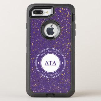Capa Para iPhone 8 Plus/7 Plus OtterBox Defender Crachá do delta | da tau do delta