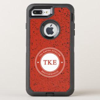 Capa Para iPhone 8 Plus/7 Plus OtterBox Defender Crachá do épsilon   do Kappa da tau
