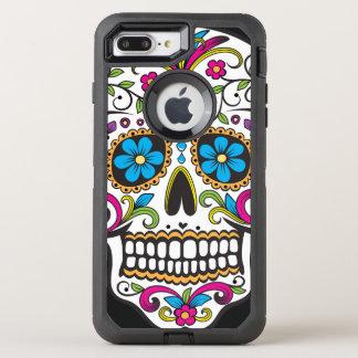 Capa Para iPhone 8 Plus/7 Plus OtterBox Defender Crânio colorido dos doces