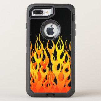 Capa Para iPhone 8 Plus/7 Plus OtterBox Defender Decoração de competência clássica das chamas em a