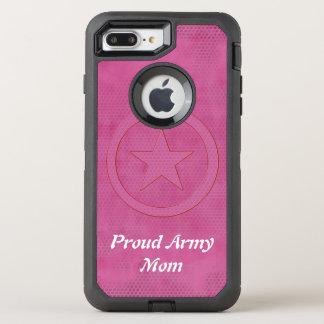 Capa Para iPhone 8 Plus/7 Plus OtterBox Defender Defensor orgulhoso da mamã do exército