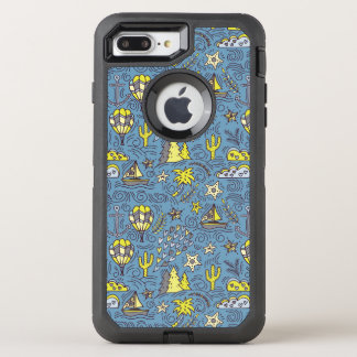 Capa Para iPhone 8 Plus/7 Plus OtterBox Defender Divertimento do viagem