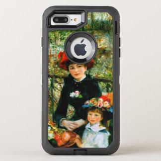Capa Para iPhone 8 Plus/7 Plus OtterBox Defender Duas irmãs no terraço