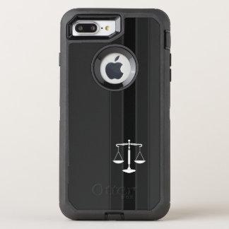 Capa Para iPhone 8 Plus/7 Plus OtterBox Defender Escalas elegantes do escritório de advogados de
