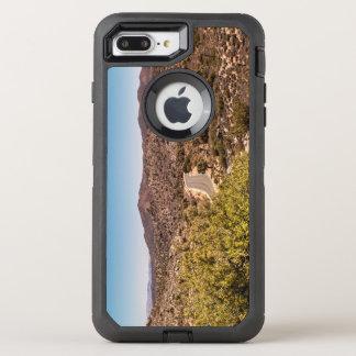 Capa Para iPhone 8 Plus/7 Plus OtterBox Defender Estrada só do deserto da árvore de Joshua