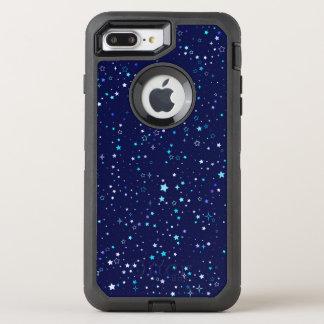 Capa Para iPhone 8 Plus/7 Plus OtterBox Defender Estrelas azuis 2 - iphone7 mais