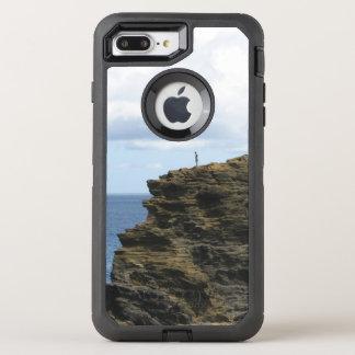 Capa Para iPhone 8 Plus/7 Plus OtterBox Defender Figura solitário em um penhasco
