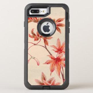 Capa Para iPhone 8 Plus/7 Plus OtterBox Defender Folhas de bordo (impressão do japonês do vintage)