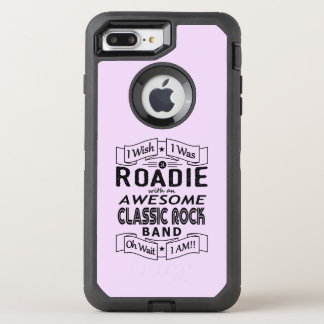 Capa Para iPhone 8 Plus/7 Plus OtterBox Defender Grupo de rock clássico impressionante de ROADIE