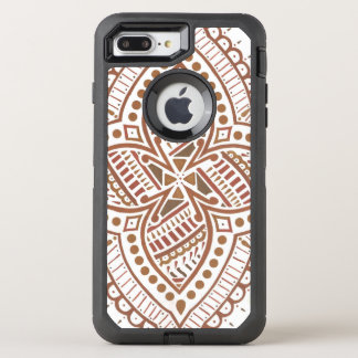 Capa Para iPhone 8 Plus/7 Plus OtterBox Defender Henna do iPhone 6