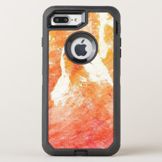 Capa Para iPhone 8 Plus/7 Plus OtterBox Defender iPhone alaranjado do lobo 8/7 de caso positivo de