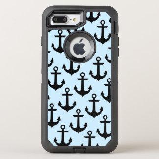 Capa Para iPhone 8 Plus/7 Plus OtterBox Defender iPhone azul da âncora 8/7 de caso positivo de