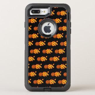 Capa Para iPhone 8 Plus/7 Plus OtterBox Defender iPhone do basquetebol do fogo 8/7 de caso positivo