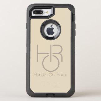Capa Para iPhone 8 Plus/7 Plus OtterBox Defender iPhone do logotipo de HOR 8 Plus/7 mais o ouro do