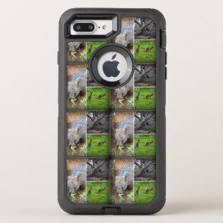 Capa Para iPhone 8 Plus/7 Plus OtterBox Defender iPhone Otterbox 7 do Sniff de Wombat+ exemplo do