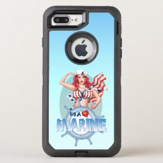 """Capa Para iPhone 8 Plus/7 Plus OtterBox Defender iPhone """"SEXY"""" 7 DS positivo dos EUA Apple   do"""
