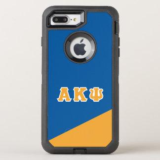 Capa Para iPhone 8 Plus/7 Plus OtterBox Defender Letras alfa do grego da libra por polegada