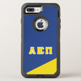 Capa Para iPhone 8 Plus/7 Plus OtterBox Defender Letras alfa do grego do Pi   do épsilon