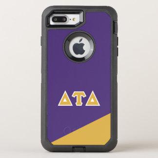 Capa Para iPhone 8 Plus/7 Plus OtterBox Defender Letras do grego do delta | da tau do delta