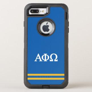 Capa Para iPhone 8 Plus/7 Plus OtterBox Defender Listra alfa do esporte de Omega | da phi