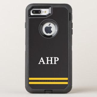 Capa Para iPhone 8 Plus/7 Plus OtterBox Defender Listra alfa do esporte do ró   de Eta