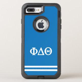 Capa Para iPhone 8 Plus/7 Plus OtterBox Defender Listra do esporte da teta | do delta da phi