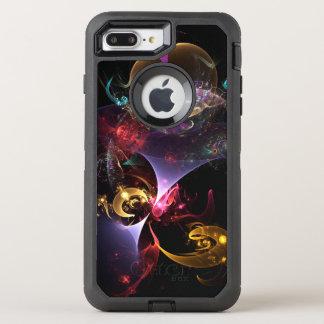 Capa Para iPhone 8 Plus/7 Plus OtterBox Defender Mapa da capa de telefone do Fractal do tempo
