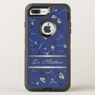 Capa Para iPhone 8 Plus/7 Plus OtterBox Defender Médico, enfermeira, medique estetoscópios