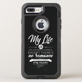 Capa Para iPhone 8 Plus/7 Plus OtterBox Defender Minha vida é como uma comédia romântica